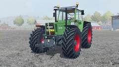 Fendt Favorit 615 LSA Turbomatik chateau green for Farming Simulator 2013