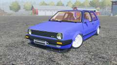 Volkswagen Golf GTI (Typ 19) 1984 stance for Farming Simulator 2013