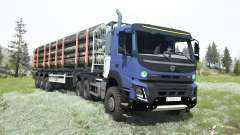 Volvo FMX 500 Day Cab 6x6 for MudRunner