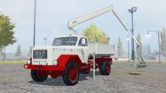 Magirus-Deutz 200 D 26 manipulator with bucket for Farming Simulator 2013