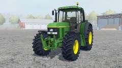 John Deere 6610 change wheels for Farming Simulator 2013