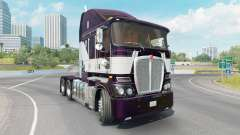 Kenworth K200 dark purple for American Truck Simulator