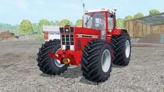 International 1455 XL Continental tires for Farming Simulator 2015