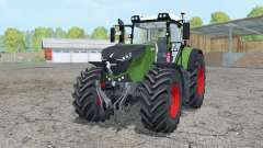 Fendt 1050 Vario mughal green for Farming Simulator 2015
