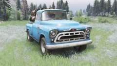 Chevrolet 3100 Stepside 1957 for Spin Tires