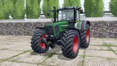Fendt Favorit 824 dark lime green for Farming Simulator 2017