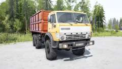 KamAZ 4310 in color sweet corn for MudRunner