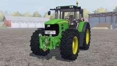 John Deere 7530 Premium ɠreen for Farming Simulator 2013