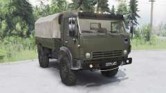 KamAZ-43501 Mustang 2006 for Spin Tires
