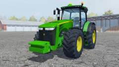 John Deere 8360R vivid malachite for Farming Simulator 2013