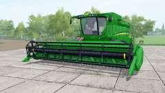 John Deere S650 dual front wheels for Farming Simulator 2017