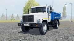 GAZ SAZ 35071 white color for Farming Simulator 2013