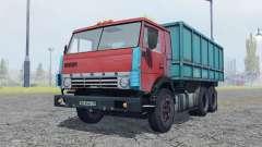 KamAZ 53212 moderately red for Farming Simulator 2013