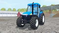 New Holland TD 5050 cyan for Farming Simulator 2015
