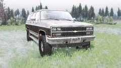 Chevrolet K1500 Suburban 1989 for Spin Tires