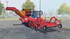 Grimme Tectron 415 carmine pink for Farming Simulator 2013