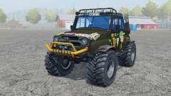 UAZ Hunter (315195-130) Monster for Farming Simulator 2013