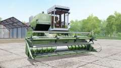 Yenisei 1200-1M in the color of the asparagus for Farming Simulator 2017