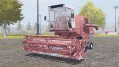 Bizon Z056 very soft red for Farming Simulator 2013