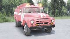 ZIL-130 AC-40 soft-red color for Spin Tires