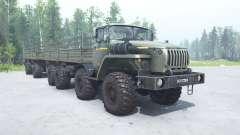 Ural 6614 gray-green color for MudRunner
