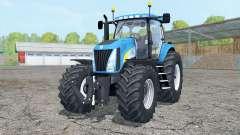 New Holland TG 285 cyan for Farming Simulator 2015