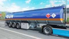 The semitrailer-tank Mammut for Euro Truck Simulator 2