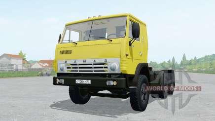KamAZ 5410 with semitrailer NefAZ of 93 344 for Farming Simulator 2017