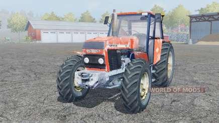 Ursus 1224 pale red for Farming Simulator 2013