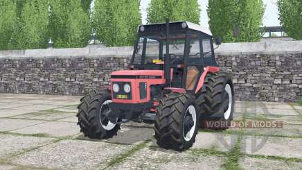 Zetor 6245 congo pink for Farming Simulator 2017