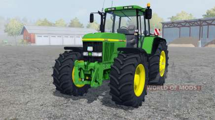 John Deere 7710 pantone green for Farming Simulator 2013