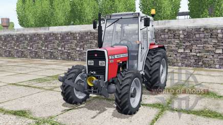 Massey Ferguson 372 bright red for Farming Simulator 2017