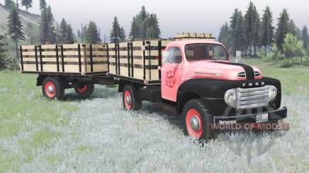 Ford F-3 1953 for Spin Tires