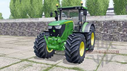John Deere 6155R front loader for Farming Simulator 2017