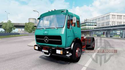 Mercedes-Benz 1632 (Br.387) 1973 tiffany blue for Euro Truck Simulator 2