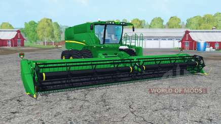 John Deere S680 green for Farming Simulator 2015