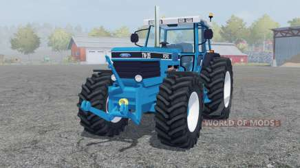 Ford TW-35 strong cyan for Farming Simulator 2013