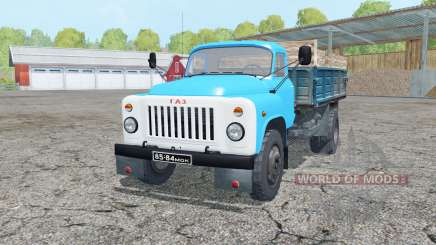 GAZ-53 in celadon for Farming Simulator 2015