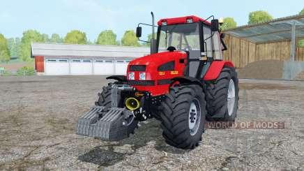 Belarus 1221.4 bright red color for Farming Simulator 2015