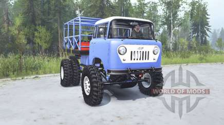 Jeep FC-170 1957 TTC for MudRunner