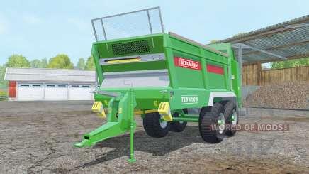 Bergmann TSW 4190 S pantone green for Farming Simulator 2015