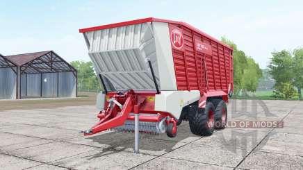 Lely Tigo XR 75 D deep carmine pink for Farming Simulator 2017