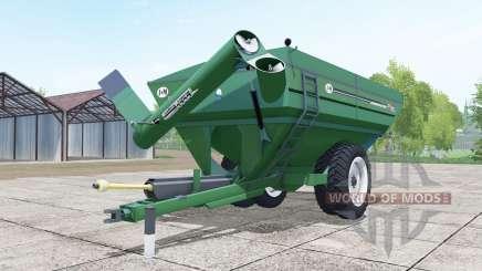 J&M 1412 illuminating emerald for Farming Simulator 2017
