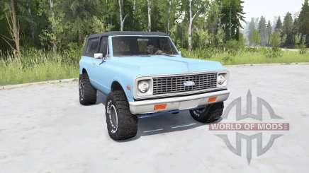 Chevrolet K5 Blazer 1972 for MudRunner