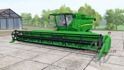 John Deere S670 vivid malachite for Farming Simulator 2017