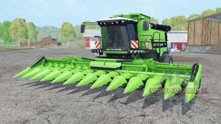 Deutz-Fahr 7545 RTS soft lime green for Farming Simulator 2015