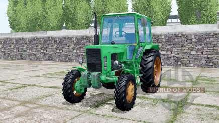 MTZ-82 Belarus Caribbean green color for Farming Simulator 2017