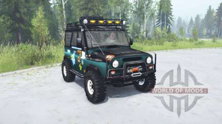 UAZ hunter Trophy for MudRunner