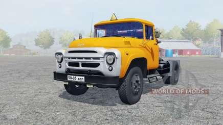 ZIL-130V orange color for Farming Simulator 2013