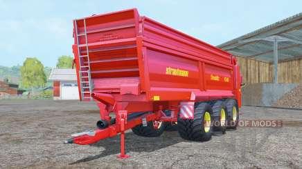 Strautmann PS 3401 vivid red for Farming Simulator 2015